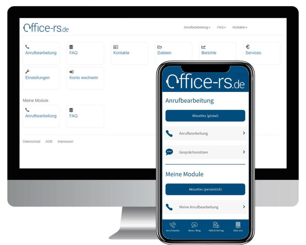 Telefonservice nicht nur als Desktop Version. Auch als Mobile App erhältlich.